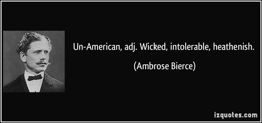 Un-American quote #2