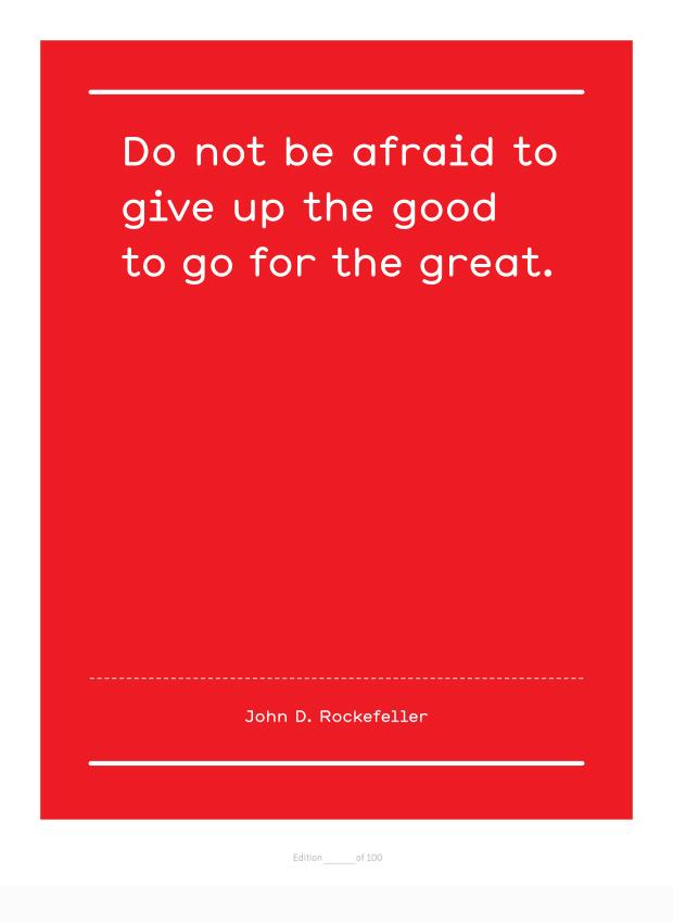 Unasked quote #2
