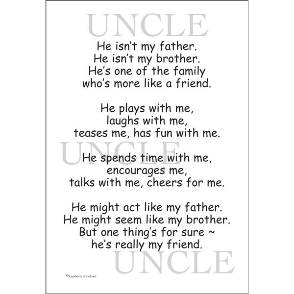 Uncle quote #4
