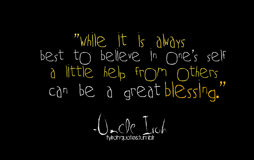 Uncle quote #2