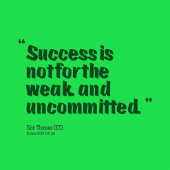 Uncommitted quote #1