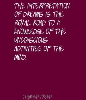 Unconscious quote