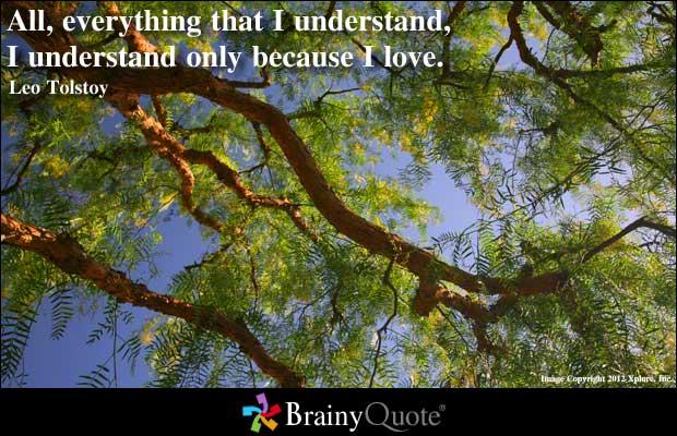 Understand quote #6