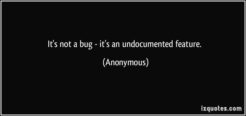 Undocumented quote #1