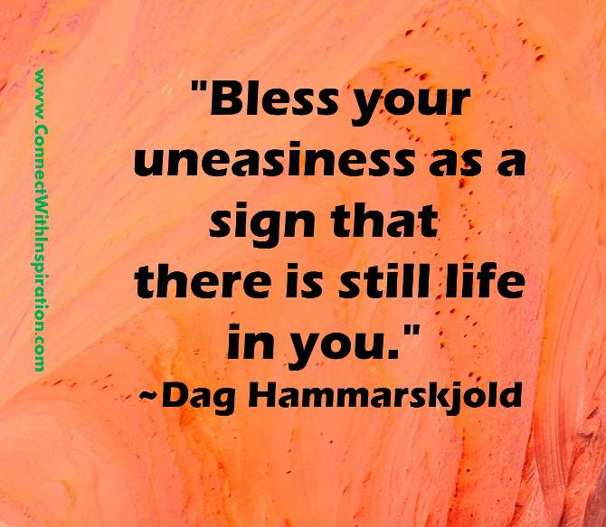 Uneasiness quote #1