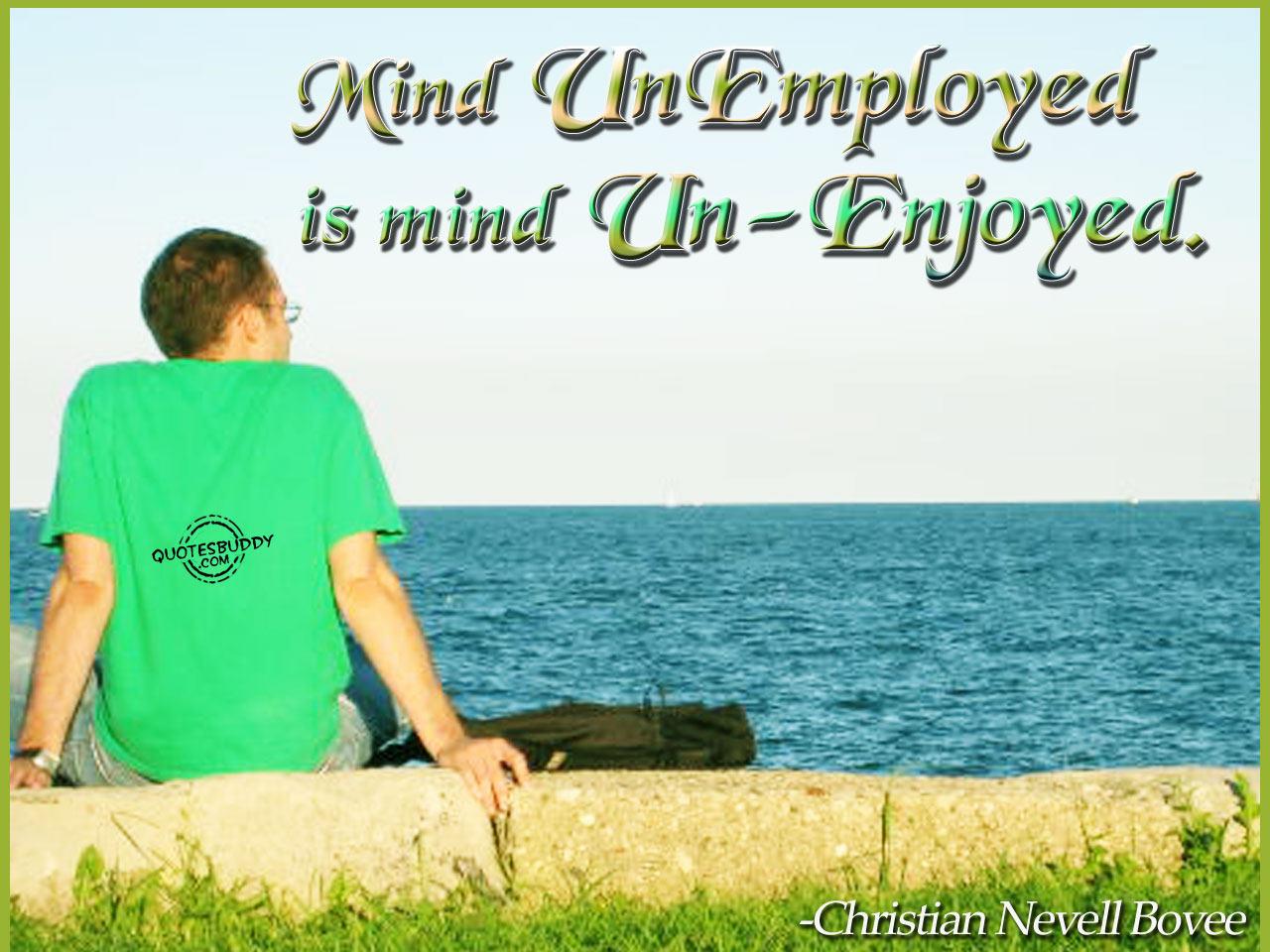 Unemployed quote #4