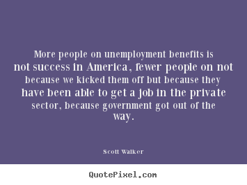 Unemployment Benefits quote