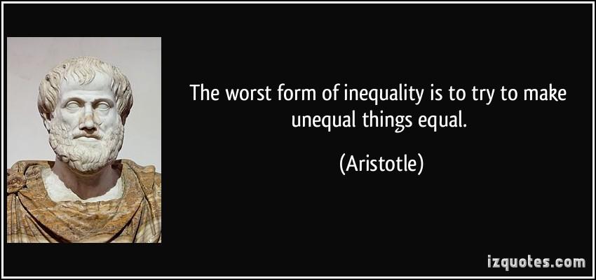Unequal quote #1