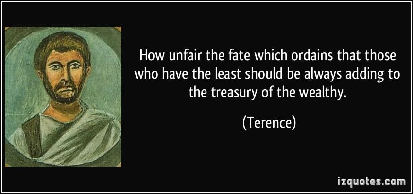 Unfair quote #1