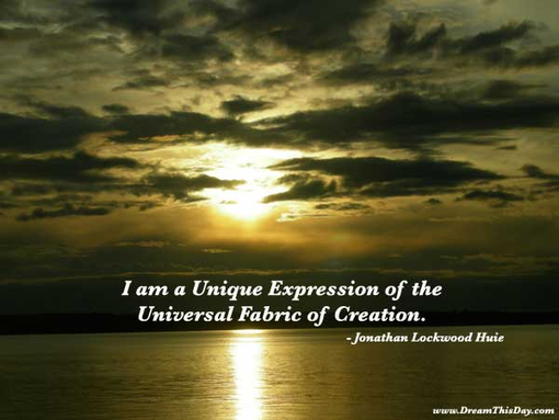 Uniqueness quote #1