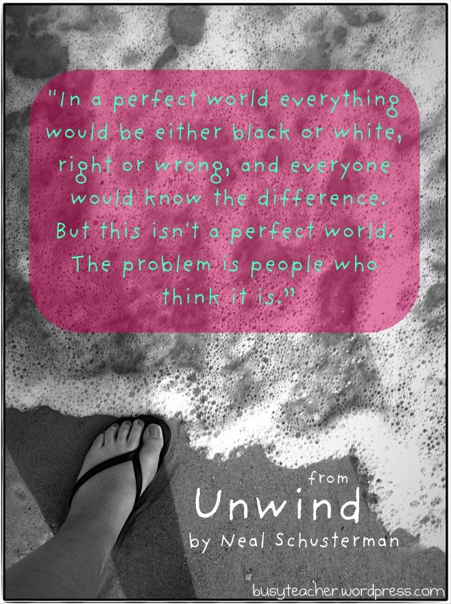 Unwind quote #1