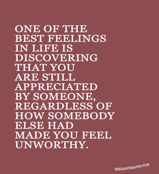 Unworthy quote
