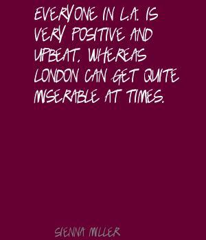 Upbeat quote