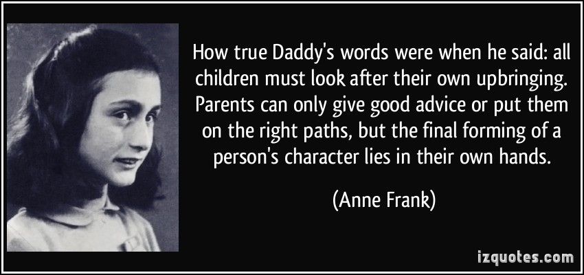 Upbringing quote #4