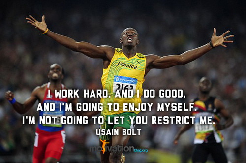 Usain Bolt's quote