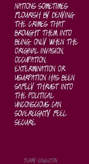 Usurpation quote #2