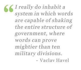 Vaclav Havel's quote #7