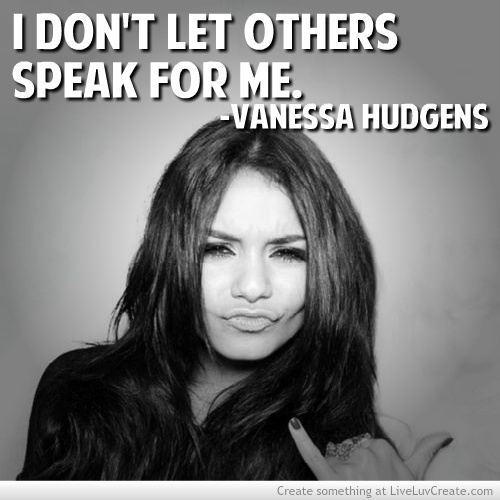 Vanessa Hudgens's quote #7