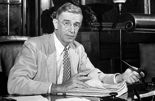 Vannevar Bush's quote