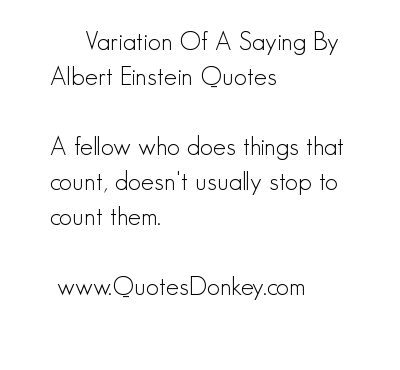 Variation quote #1