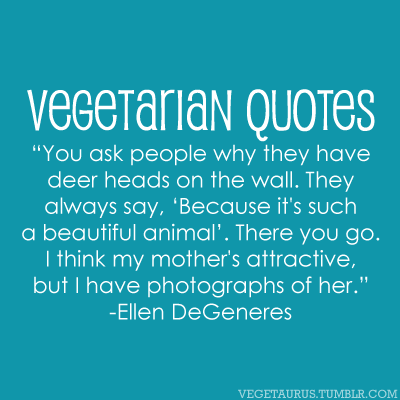 Vegetarian quote #1