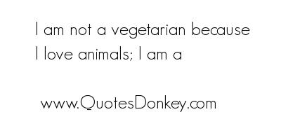 Vegetarian quote #6