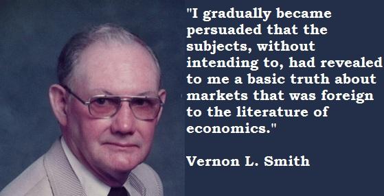 Vernon L. Smith's quote #3