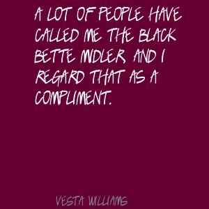 Vesta Williams's quote