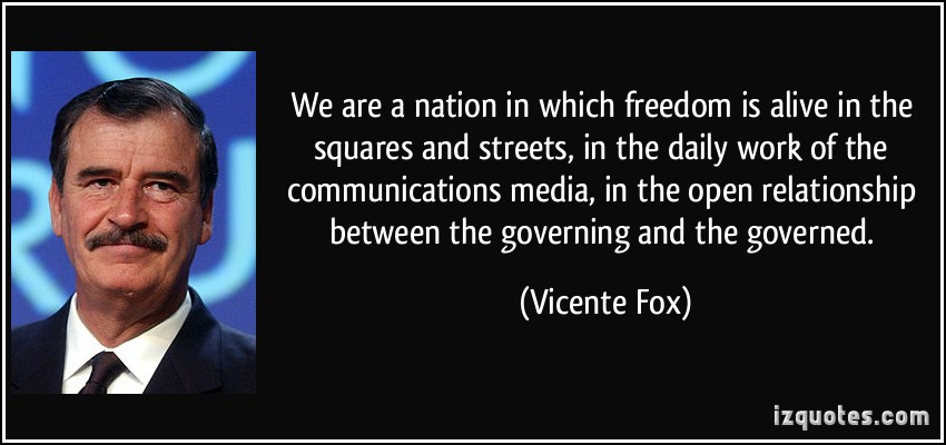 Vicente Fox's quote #2