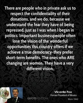 Vicente Fox's quote #4