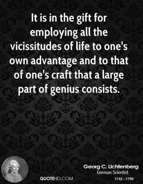 Vicissitudes quote #2