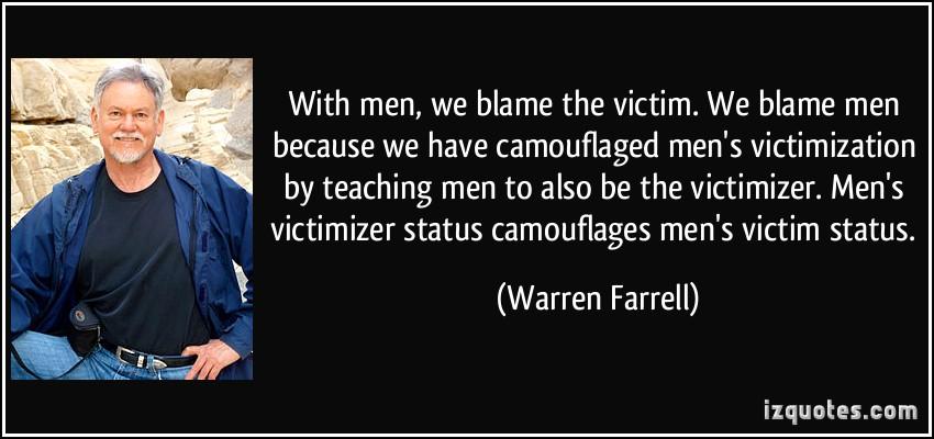 Victimization quote #1