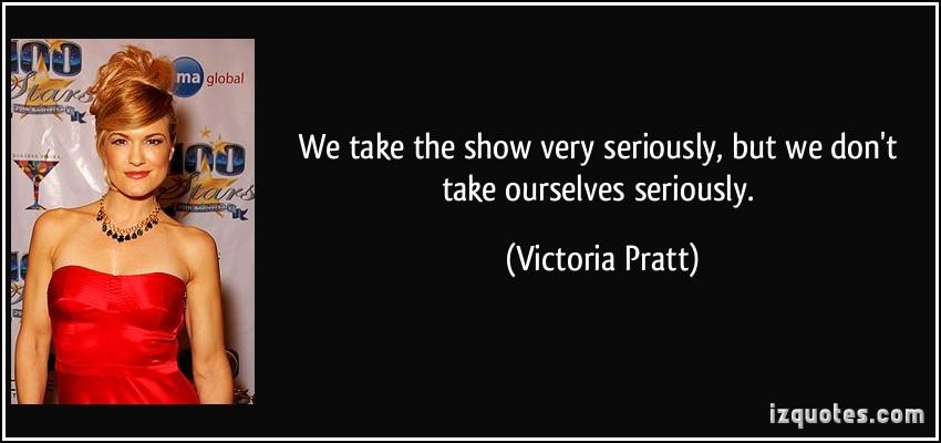 Victoria Pratt's quote #1