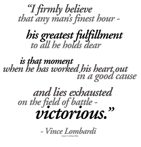 Vince Lombardi's quote #4