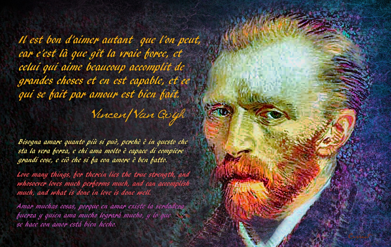 Vincent Van Gogh's quote #5