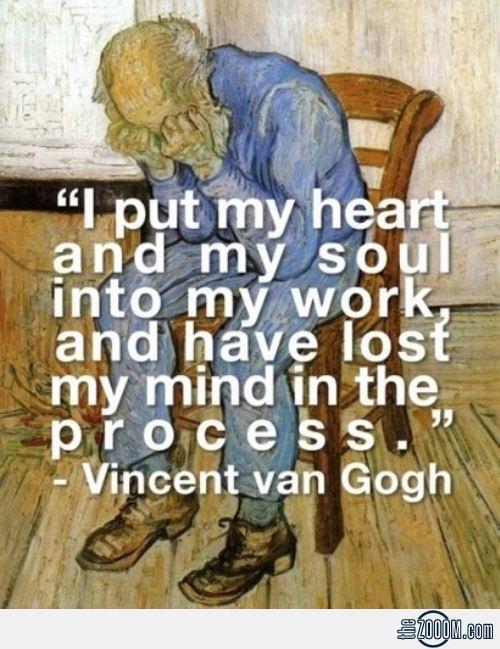 Vincent Van Gogh's quote #2