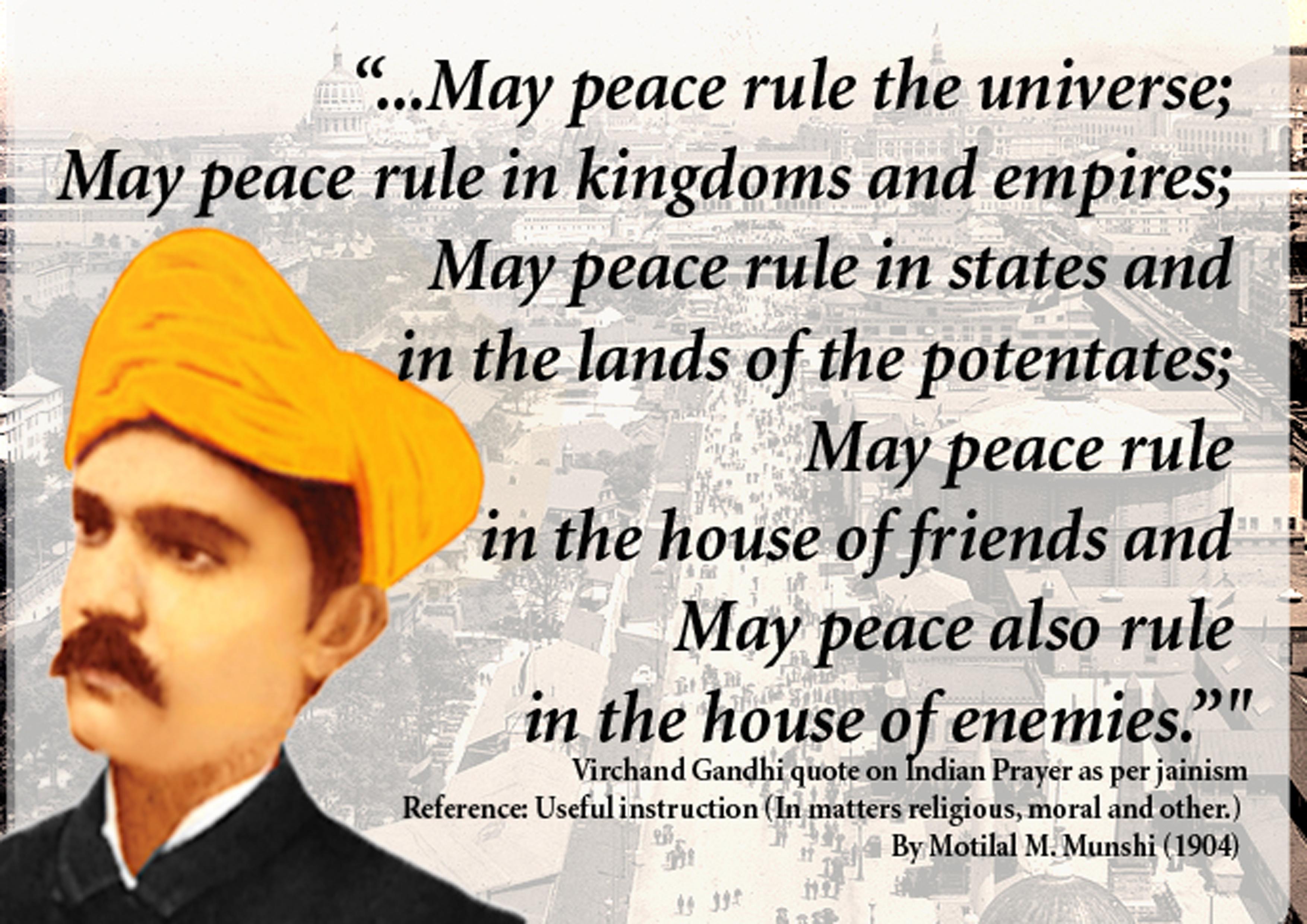 Virchand Gandhi's quote #1