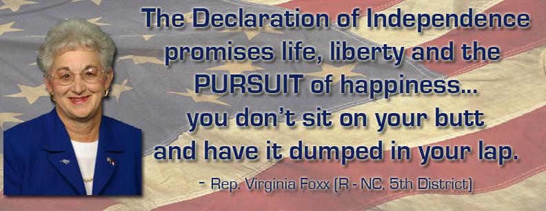 Virginia Foxx's quote #3