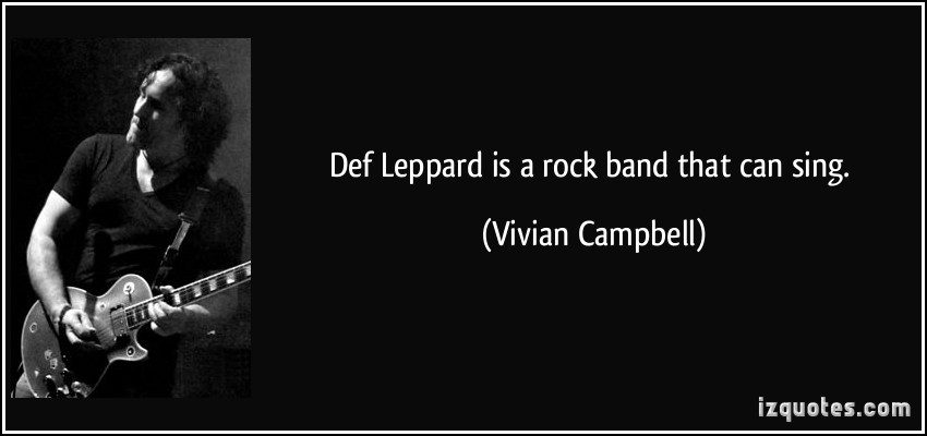 Vivian Campbell's quote #5