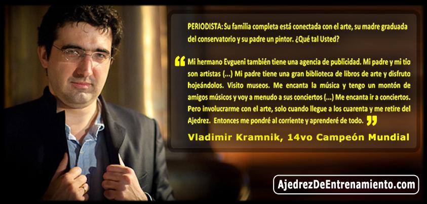 Vladimir Kramnik's quote #1