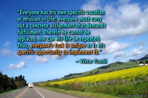 Vocation quote #7