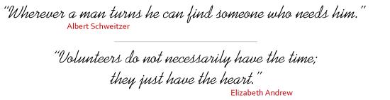 Volunteer quote #2