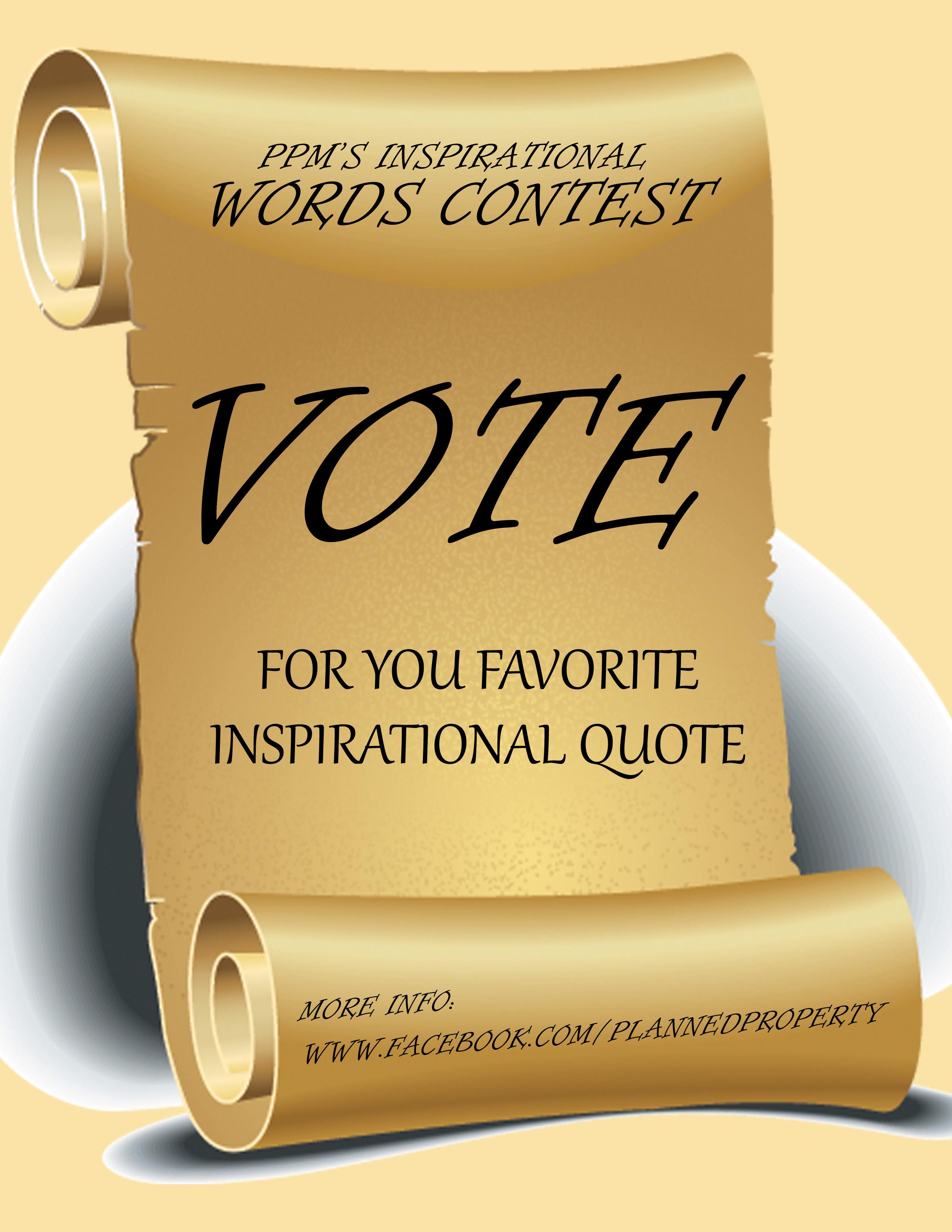Vote quote #1