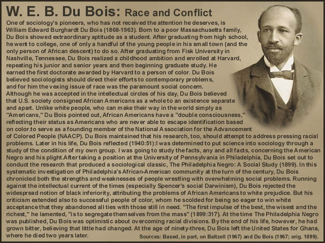 an introduction to the life of william edward burghardt du bois In later life du bois made a close study of his family origins, weaving them  rhetorically  it also offered the northern-reared du bois an introduction to  southern.