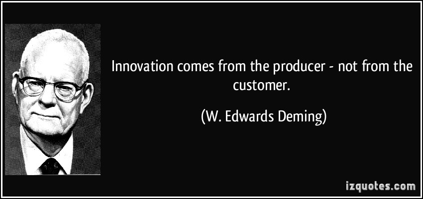 W. Edwards Deming's quote #3