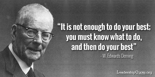 W. Edwards Deming's quote #4