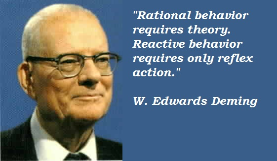 W. Edwards Deming's quote #5