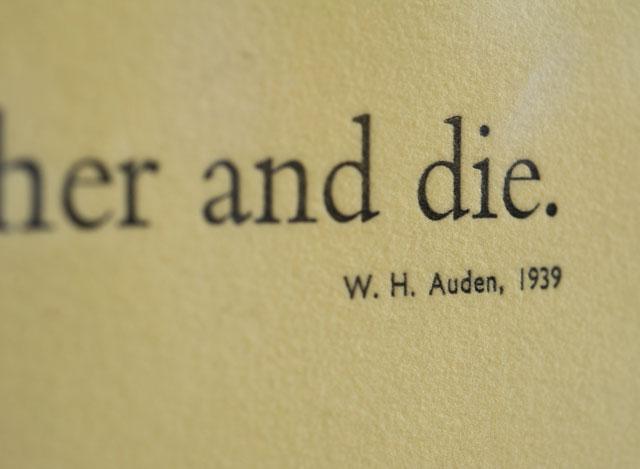 W. H. Auden's quote #4