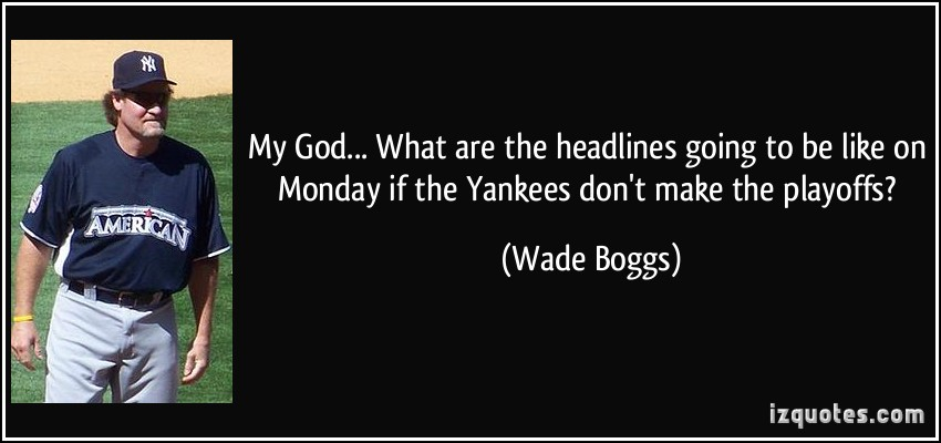 Wade Boggs's quote #5