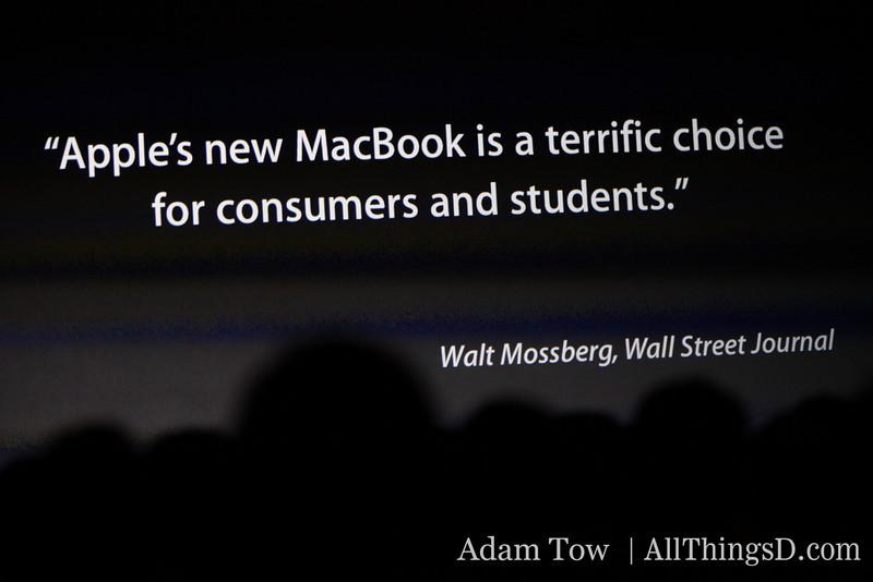 Walt Mossberg's quote #1